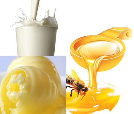 Chữa tàn nhang bằng mật ong, sữa chua và bơ tại nhà