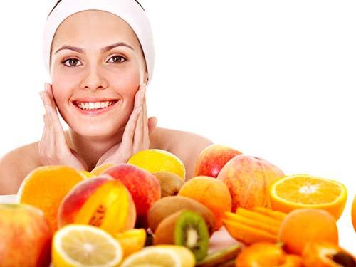 chăm sóc da bị nám bằng cách bổ sung đầy đủ dưỡng chất