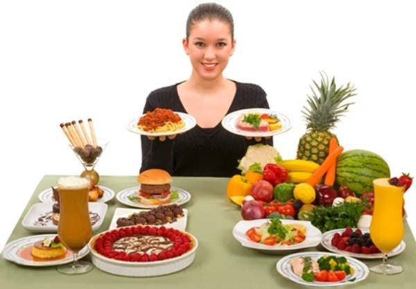 Chế độ ăn uống để trị nám sau sinh